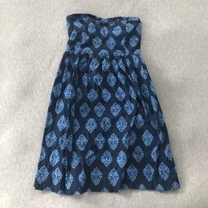 Old Navy Dresses - Navy blue strapless dress